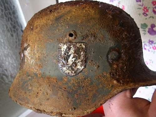 M35 SS stahlhelm SS Nord division