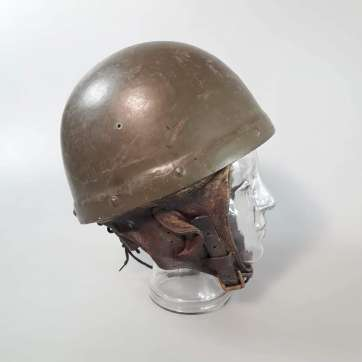 "CANADIAN ""FIBRE"" DISPATCH RIDERS' HELMET"